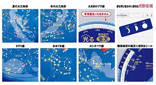 昭和教材『光る星と月の動き』