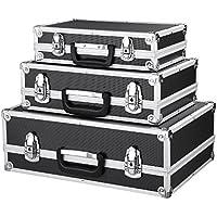 IKAYAA Juego de 3Transporte en maletín con Marco de Aluminio y ABS