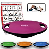 POWRX - Balance Board Perfetto per Esercizi di propriocettività, Fisioterapia e Fitness i...