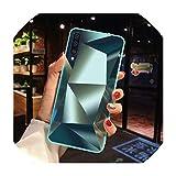 for Samsung Galaxy A50 Case Luxury Diamond Mirror Glossy Cover for Samsung M30 A10 A20 A30 A40 A60 A70 A80 S10 Note 10 Plus Case,Note 10 Plus 5G,3