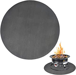 Under The Grill Mat Deck Protection Device Outdoor Fire Mat Barbecue Mat NIU MANG 30In Round Fire Pit Mat Grill Mat Deck Protector Fire Mat for Fire Pit Heat Proof Mat for Fire Pit Campfire Lawn
