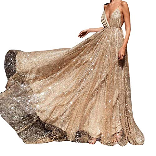Vestiti Donna Abito Elegante Donna Retro Eleganti Retro in Pizzo Cocktail Dress Sexy Abito da Principessa Maxi Lungo Prom Vestito da Sera Abiti Donna Festa Cocktail Cerimonia Nuziale Damigella Abito