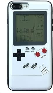 iPhone X 携帯電話カバー 3Dゲームボーイ 男 女 ソフトシリコンケース レースゲーム テトリスゲームを多数内蔵 アイフォンX 10 レトロ風ゲーマ保護ケース (iPhone X, Retro Gamer Case)