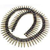 German Trendseller® ┃ Munitionsgürtel - Soldat ┃ 160 cm ┃ Fasching ┃ Karneval ┃ Armee...