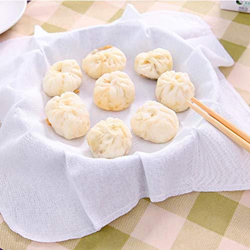 Omabeta Paño de vaporizador de Cocina de algodón Transpirable para Restaurante