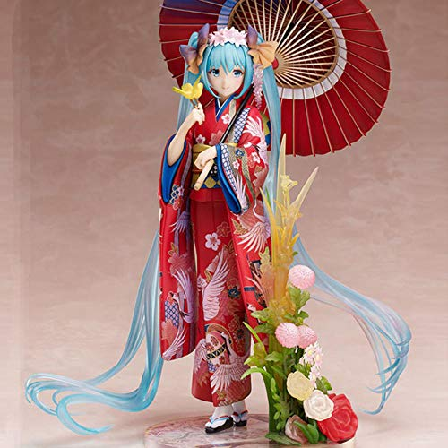 Anime Character Model Collectibles Action Figure Toys Anime 23Cm Dolls Kimono Ver. Pvc Bathrobe Cute Doll Anime Toy For Girls Action Figures Giftanime Fans Best Gift Pvc Nendoroid Action Figure M