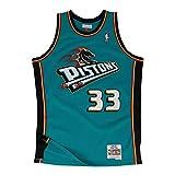 Mitchell & Ness Detroit Pistons Grant Hill 1998 Road Swingman Jersey (Medium)