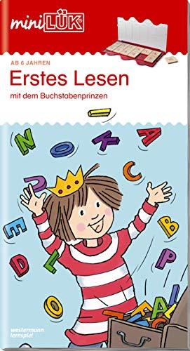 miniLÃœK-Ãœbungshefte: miniLÃœK: 1. Klasse - Deutsch: Erstes Lesen mit dem Buchstabenprinzen: Deutsch / 1. Klasse - Deutsch: Erstes Lesen mit dem Buchstabenprinzen (miniLÃœK-Ãœbungshefte: Deutsch)