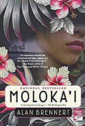 hawaiian girl flowers moloka'i book cover