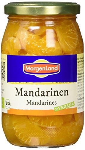 Morgenland Bio Mandarinen im Glas, 6er Pack (6 x 350 g)