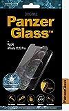PanzerGlass antibakterielles Schutzglas passend für Apple iPhone 12/ 12 Pro, Standard Fit