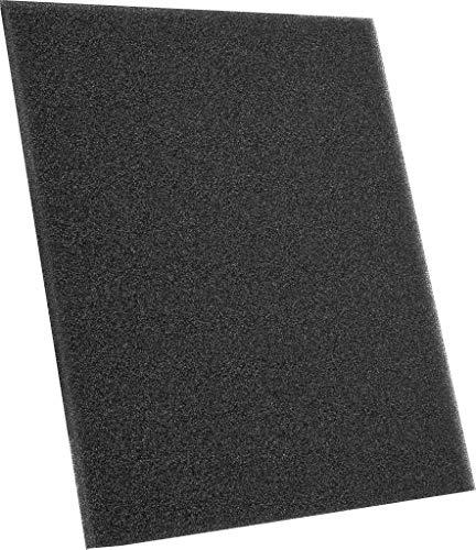 Filtermatte für Dunstabzugshaube 1m x 2m x 12 mm. | Aktivkohle 5135 | Schneidbare Filtermatten | Fettfilter & Staubfilter | Geruchfilter