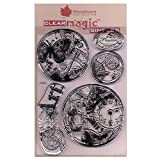 Woodware Clear Stamp Set, 210x 110 -