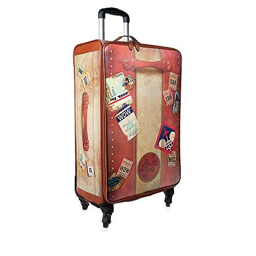 ディズニーリゾート スーツケース 旅行 かばん トラベル バッグ ビンテージ 71cm WDW グッズ [並行輸入品]