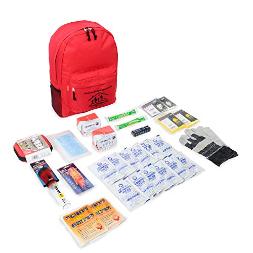 First My Family All-in-One 2-Person Premium Disaster Preparedness Survival Kit