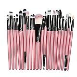 20/5Pcs Makeup Brush Set Eye Shadow Foundation Liquid Eyeliner Eyelash lip Makeup Brush Cosmetic Beauty Tool Set Popular