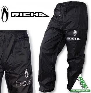 DuPontTM y KEVLAR/® con fibras de aramida color negro Pantalones vaqueros de corte cl/ásico