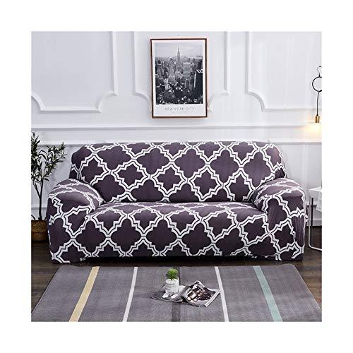 Cubierta de sofá de estiramiento, sofá elásticos Cubiertas para sala de estar, Sofá Muebles Protector Fundas Sofás Con Chaise Longue 1pc ( Color : Color 16 , Specification : 4 seater 235 300cm )
