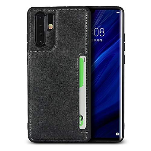 Étui Portefeuille Pour Huawei P30 Pro (Noir)