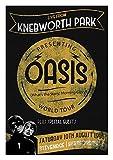 Vintage Knebworth Artwork / Oasis Print / Liam G Poster /