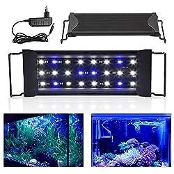 wolketon-LED-Aquarium-Beleuchtung-Universal-Aquarium-Lampe-LED-Pflanze-mit-Verstellbarer-Halterung-fr-Swasser-Aquarien