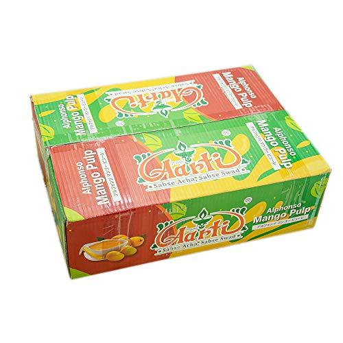 神戸アールティー Aarti アルフォンソ マンゴーピューレ 850g 12缶 【1ケース】 Mango Pure