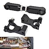 NICECNC Black ATV 3.5' Front & Rear Lowering Kit for Raptor 350 YFM350 2004-2013 660 660R YFM660R 2001 2002 2003 2004 2005 700 700R YFM700 2006-2017