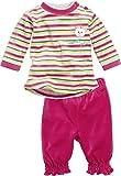 Schnizler Baby-Mädchen Anzug-Set Nicki 2-teilig My Sweet Bear Jogginganzug, Mehrfarbig (grau/Melange 37), 62