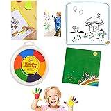 Peinture Enfant, Peinture Acrylique Peinture au Doigt pour Enfants, non Toxique, kit Peinture Acrylique Enfants, Lavable, Convient les Petits Cadeaux pour les Enfants Activites Manuelles pour Enfants