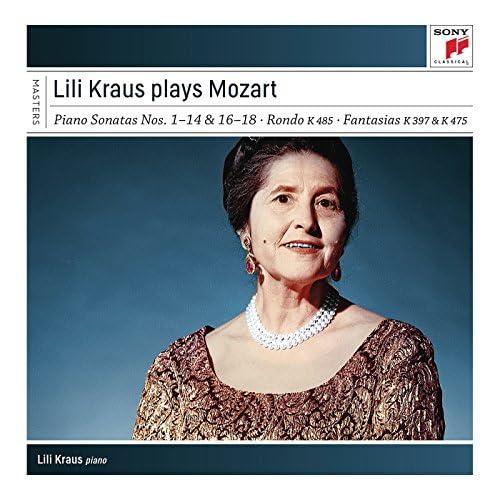 Lili Kraus & Wolfgang Amadeus Mozart