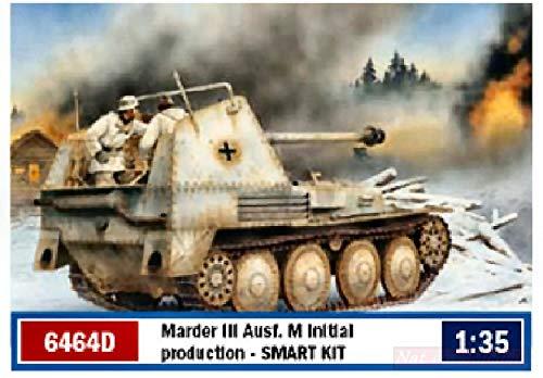 Dragon D6464 MARDER III AUSF M Initial Kit 1:35 MODELLINO Model Compatible con