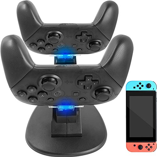 AmazonBasics Charging Dock for Nintendo Switch Pro Controller Now $4.81