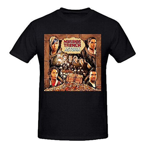Marianas Trench Astoria Big and Tall Herrens Tee Shirts