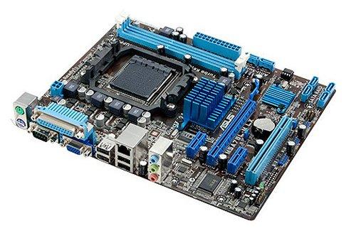 Asus M5A78L-M LX/C/SI Mainboard Sockel AMD AM3+ 760G (Mini ATX, DDR3 Speicher, SATA, 10x USB 2.0)