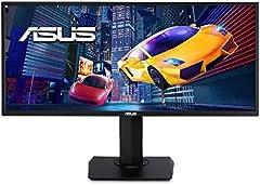 ASUS VP348QGL - Monitor Gaming 34 Pulgadas UWQHD (3440x1440, 21:9, HDR-10, Adaptive-Sync/FreeSync, Shadow Boost, Puede montarse en la Pared, Diseño ergonómico, Pip/PbP, Antiparpadeo, Filtro luz Azul)