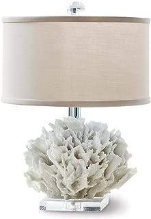Regina Andrew Ribbon Coral 100 Watt Max White/Natural and Resin 1 Socket Mini - Decorative Table Lamp