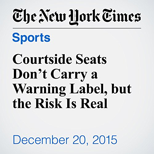 Courtside Seats Don't Carry a Warning Label, but the Risk Is Real audiobook cover art