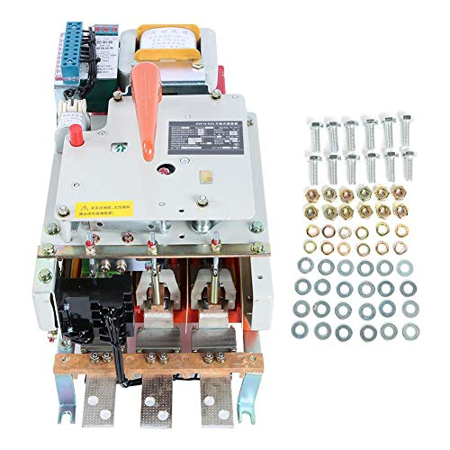 【Regalo de Navidad】Protector de fuga de circuito de 380 VCA, disyuntor de protección de circuito, interruptor de aire tipo marco 630 A pequeño para la industria Edificio de gran altura Hogar