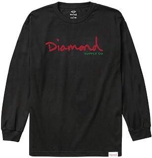 Diamond Supply Co Alligator L/S T-Shirt Black