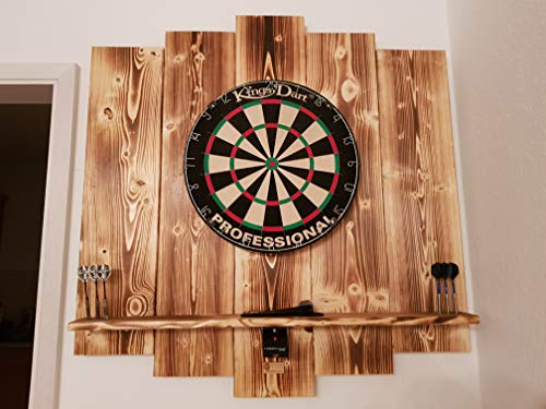 WDS Darts Sports Holz Surround, Burned - 3