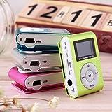 Portable Clip en Métal MP3 Lecteur de Musique Mini Media Lecteur de Musique De La...