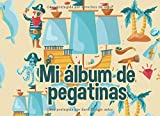 Mi álbum de pegatinas: Un gran folleto de pegatinas para pegar en tus pegatinas favoritas