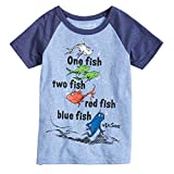 Jumping Beans Boys 4-10 Dr. Seuss One Fish Two Fish Raglan Graphic Tee 6 Royal Snow