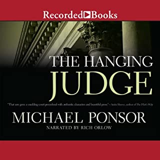 The Hanging Judge audiobook cover art