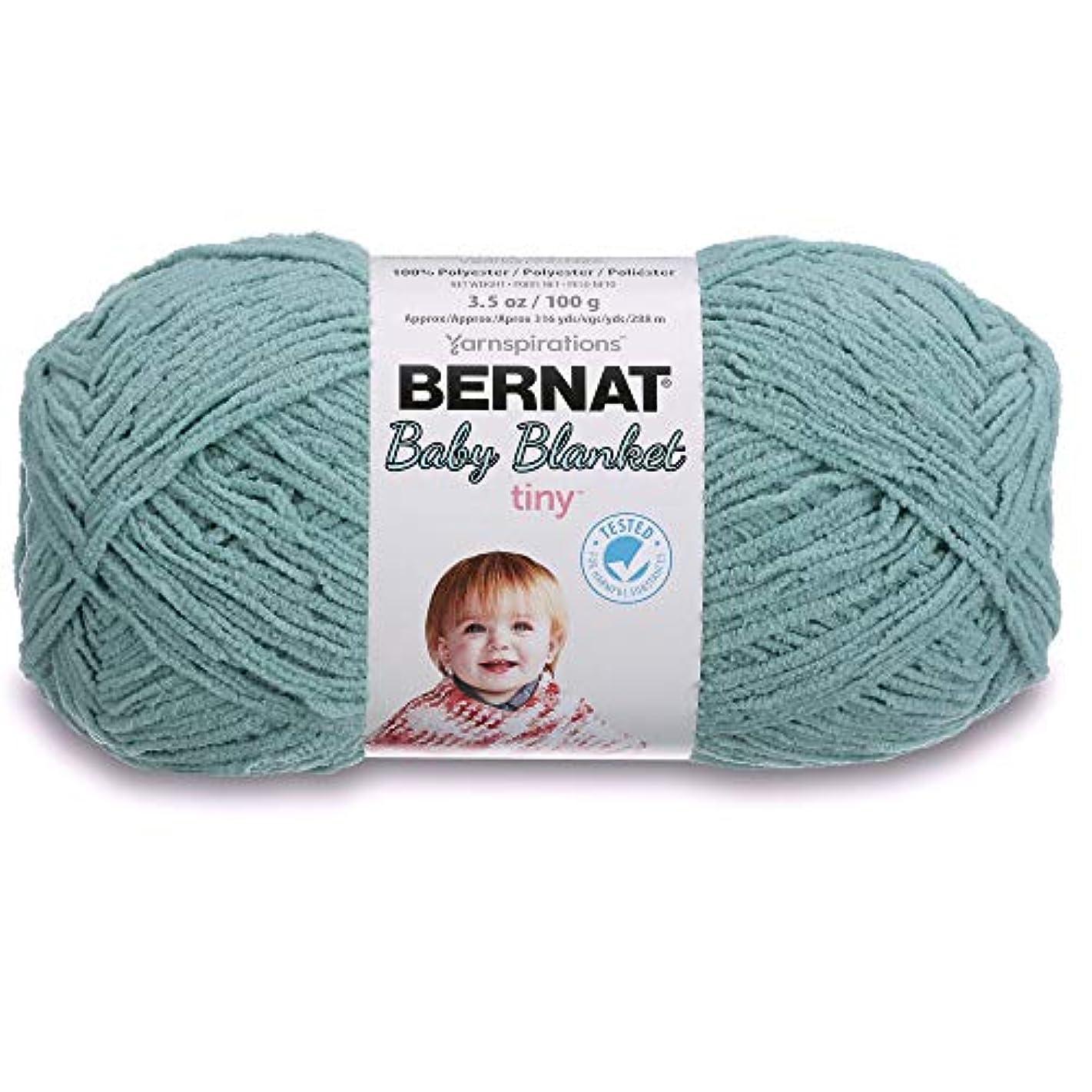 Bernat Baby Blanket Tiny Yarn, 3.5 oz, Gauge 4 Medium, Clear Sky