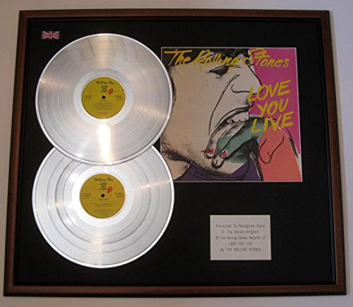 The Rolling Stones – DBLE Platinum Disc & Bezug, Präsentation – Love You Live