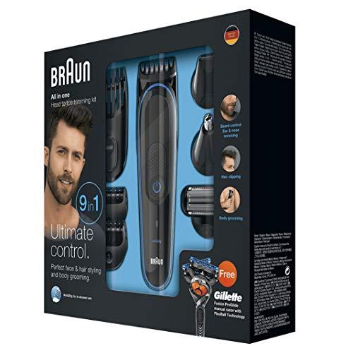 Braun MultiGrooming Kit MGK3080 Rifinitore di Precisione...