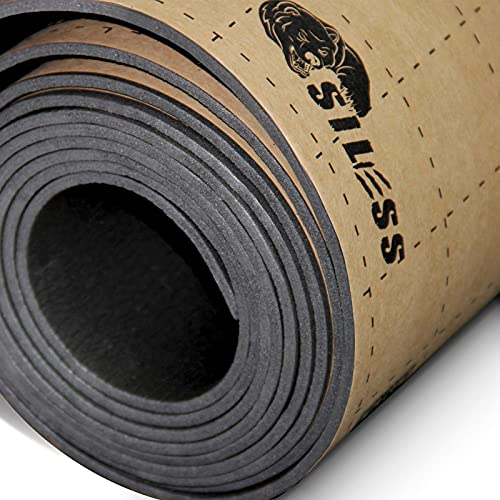 Siless Liner 157 mil 36 sqft Car Sound Deadening & Heat Insulation Closed Cell Foam - PE Foam Sound Deadener