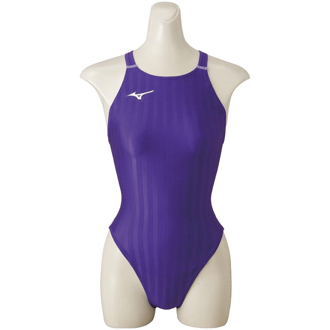 コンデンサー恨み整然としたMIZUNO(ミズノ) レース用競泳水着 ジュニア ストリームアクセラ 120~140 サイズ ミディアムカット FINA承認 N2MA8422