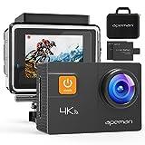 APEMAN 4K Action Camera WIFI 20MP Waterproof Sports Camera Diving 30M Ultra 170